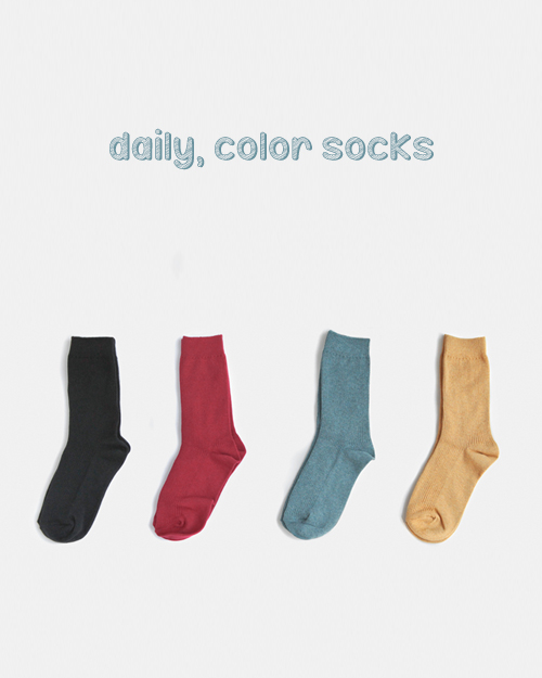 Color socks